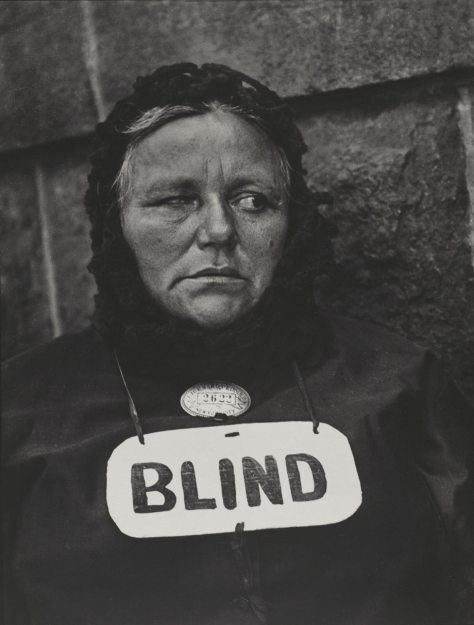 Paul Strand. Blind Woman, New York
