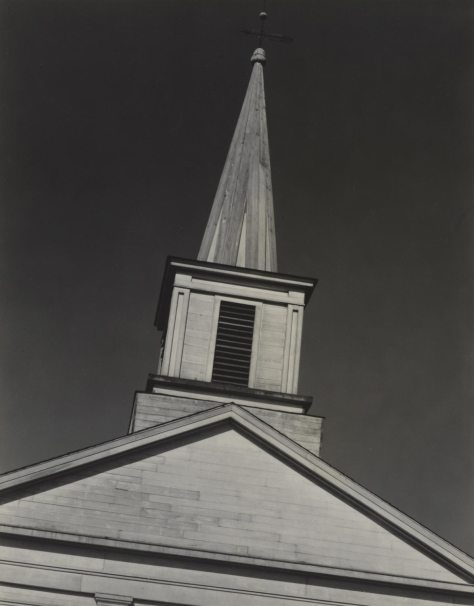 Paul Strand. Church, Massachusetts