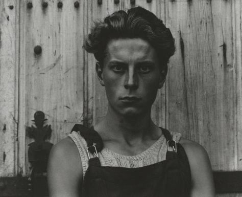 Paul Strand. Young Boy, Gondeville, Charente, France