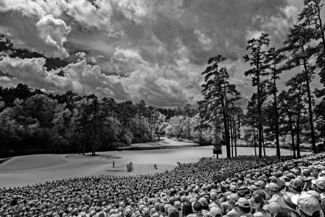 Robert Beck. Sports Illustrated. The Masters in Infrared.