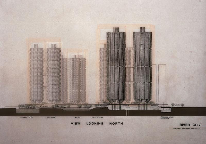 Bertrand Goldberg. River City I, Chicago, Illinois, 1972/79