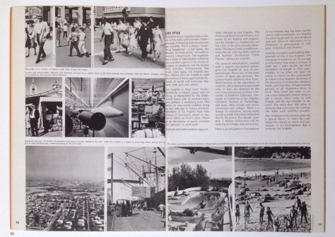 Department of City Planning, Los Angeles. Spread from Concepts for Los Angeles. 1967