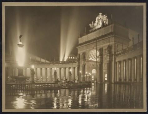 Willard Worden, The Arch of the Rising Sun at Night, 1915