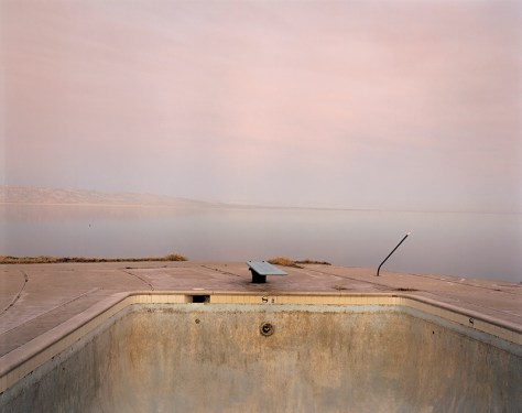 Richard Misrach. Diving Board, Salton Sea, 1983.