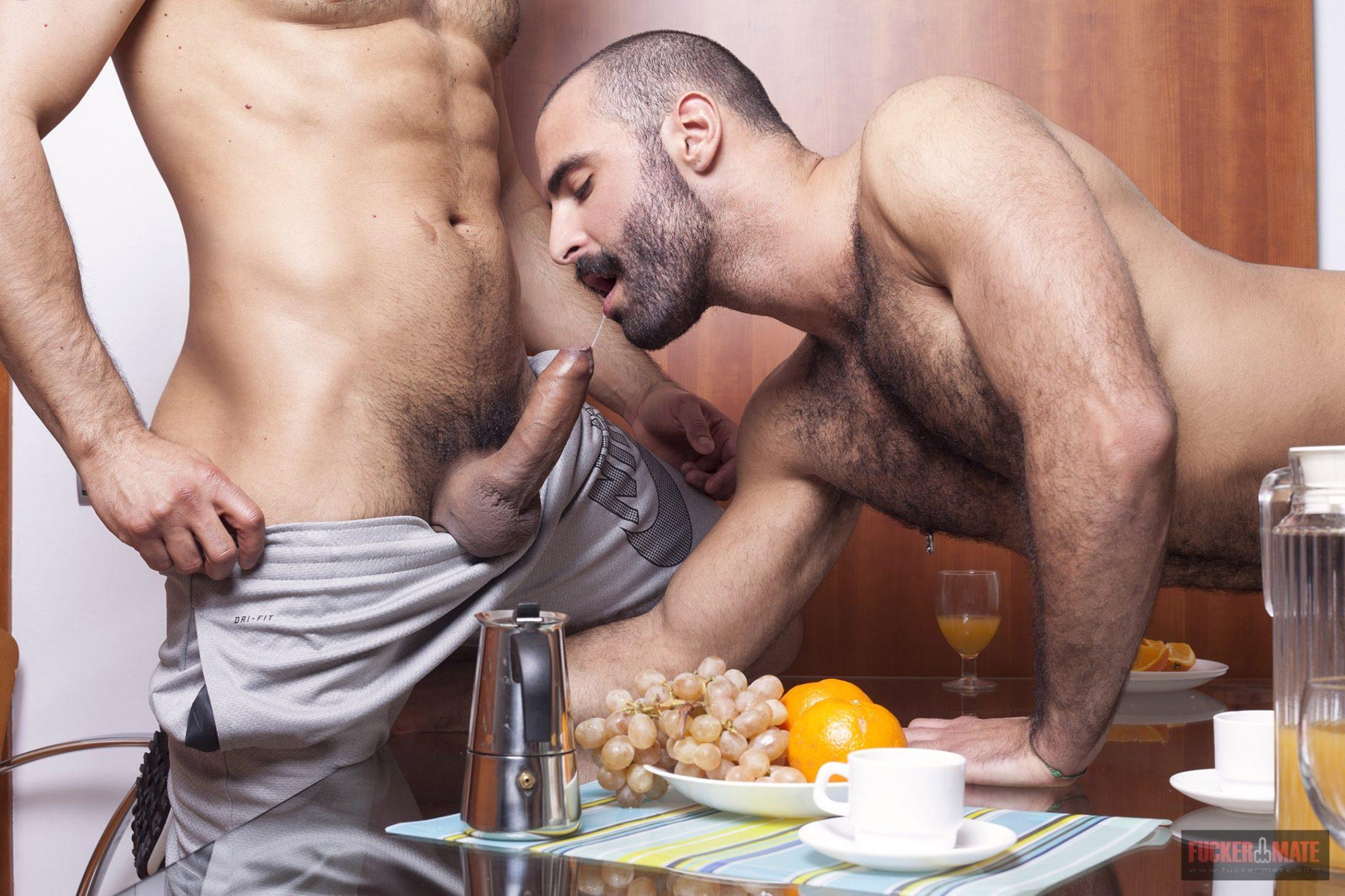 naked rough hard men