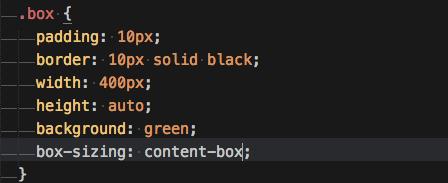 content-boxがデフォルト