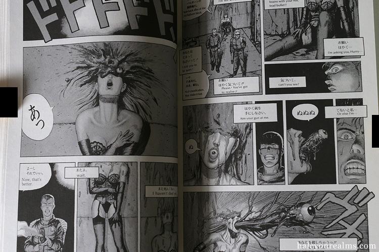 AD. Police 25:00 HRS Manga