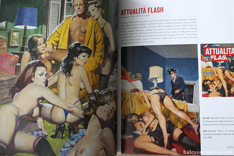 Sex And Horror – The Art Of Alessandro Biffignandi Book Review