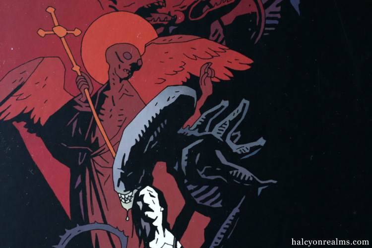 Alien Salvation - Mike Mignola Comic