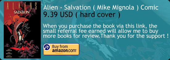 Alien Salvation - Mike Mignola Comic Amazon Buy Link