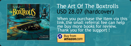 Art Of The Boxtrolls Book Amazon Buy Link