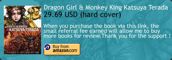 Dragon Girl And Monkey King Katsuya Terada Art Book Amazon Buy Link