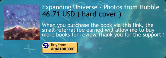 Expanding Universe - Photographs From Hubble Space Telescope Amazon Buy Link