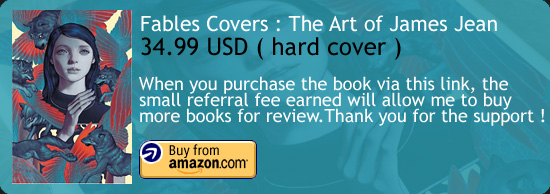 Fables Covers : The Art of James Jean Book Amazon Buy Link