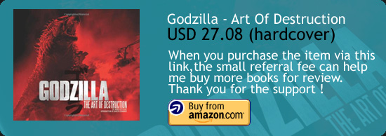 Godzilla - Art Of Destruction Book Amazon Buy Link