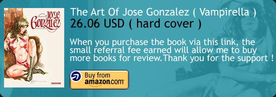The Art Of Jose Gonzalez Book Amazon Buy Link