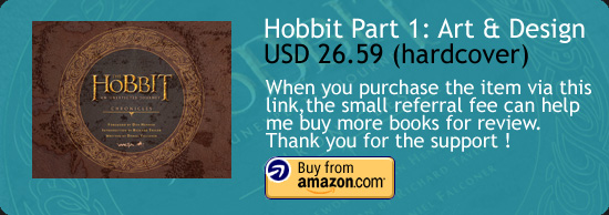 The Hobbit : An Unexpected Journey Vol 1 Art Book Amazon Buy Link