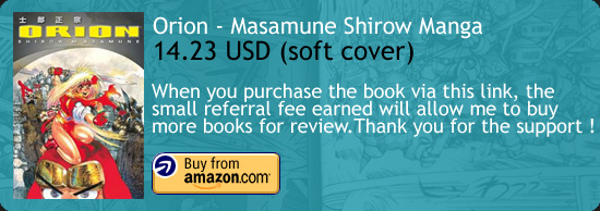 Orion Masamune Shirow Manga Amazon Buy Link
