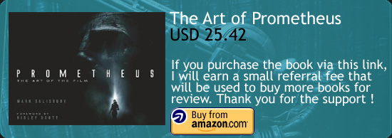 Prometheus - The Art Of The Film Book Amazon Buy Link