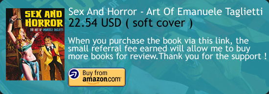 Sex And Horror - The Art of Emanuele Taglietti Book Amazon Buy Link