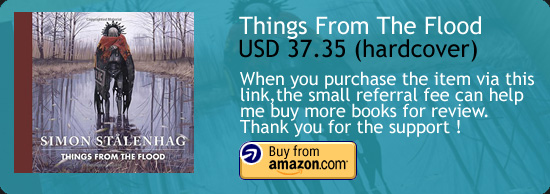 Things From The Flood - Simon Stålenhag Art Book Amazon Buy Link