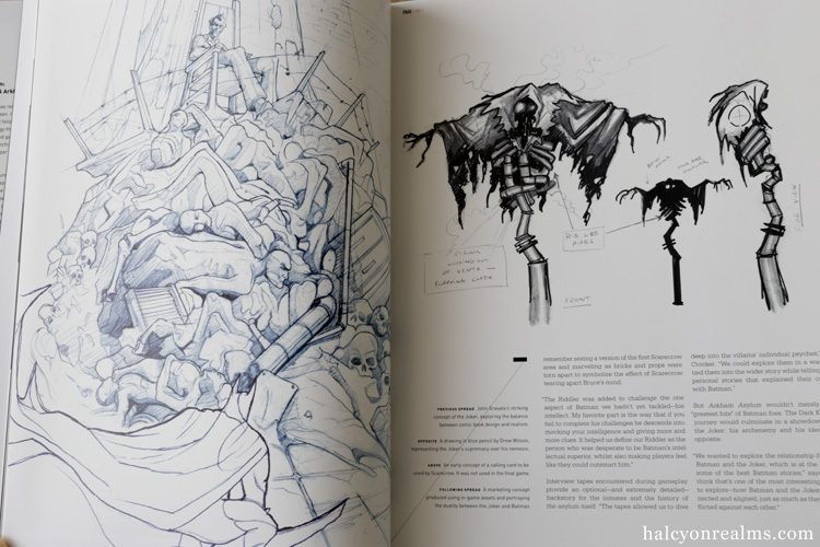 The Art Of Rocksteady's Batman Book