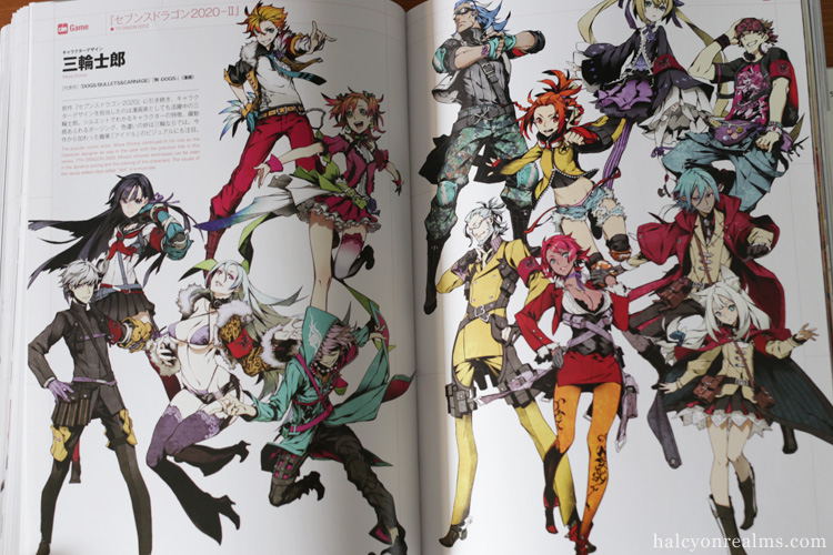 Game Character Design Book : Games anime character design book review