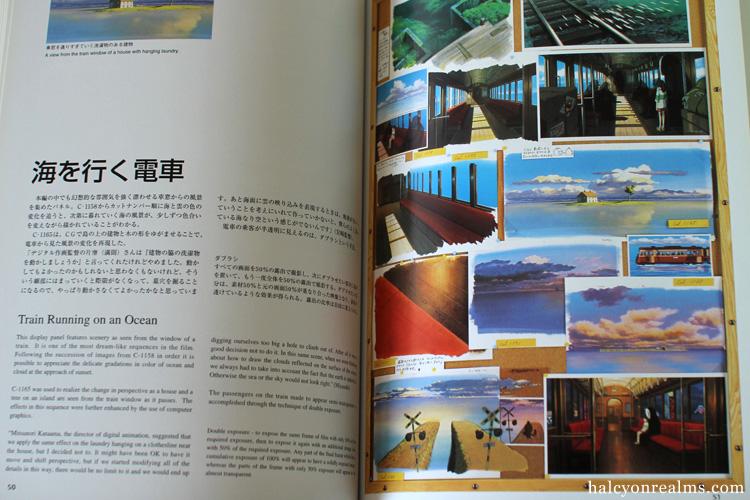 Exhibiting Animation - Ghibli Art Book
