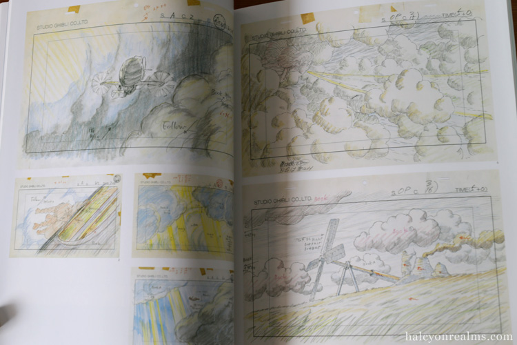 Ghibli Layout Designs Exhibition Art Book
