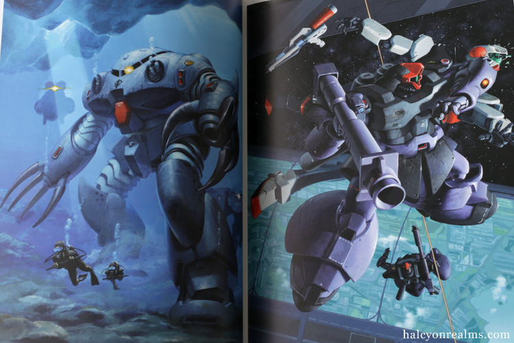 Gundam - Yuji Kaida Art Works Book