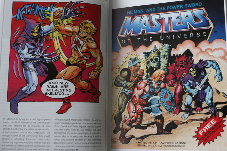 He-Man Masters Of The Universe Minicomic Book Review