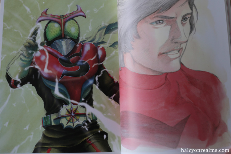 Kamen Rider - Spirits Art Book