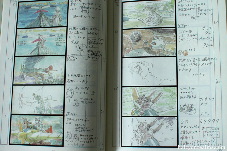Kaze Tachinu (The Wind Rises) Storyboard Book