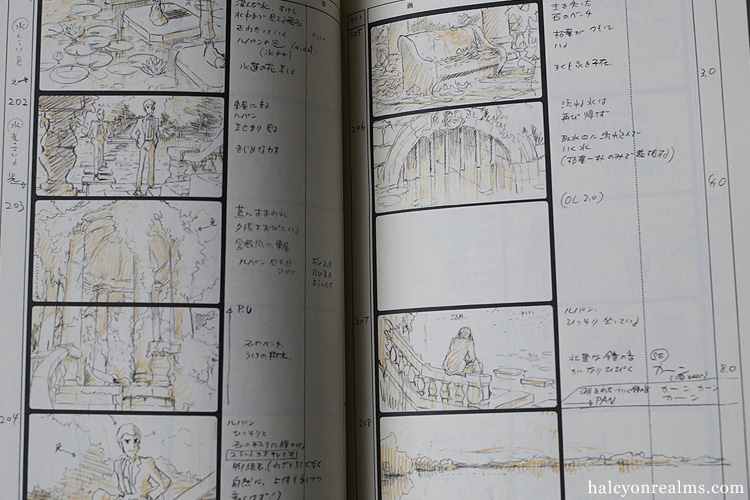 Lupin - The Castle Of Cagliostro Storyboard Book
