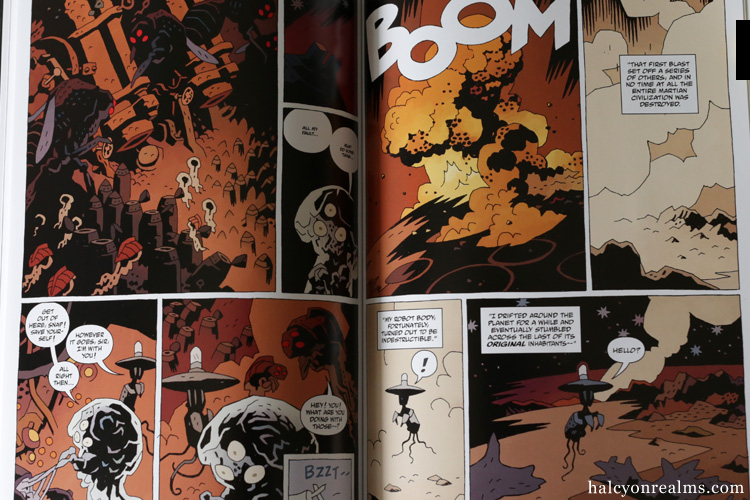 The Amazing Screw-On Head Comic Book Mignola
