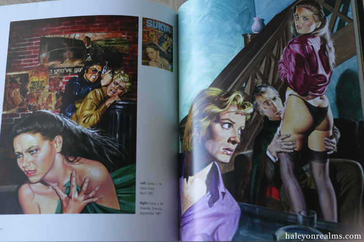 Sex And Horror - The Art of Emanuele Taglietti Book