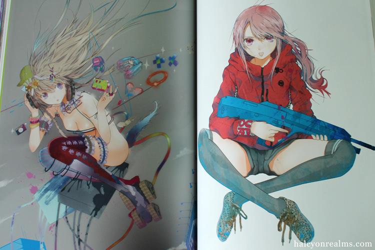 Toka Sekai - Haruaki Fuyono Art Works Book