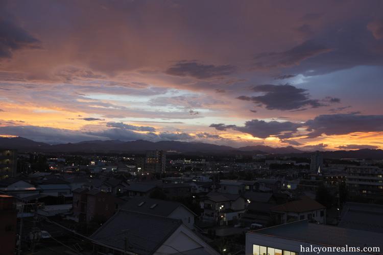 Sayama Skies After Typhoon No.9