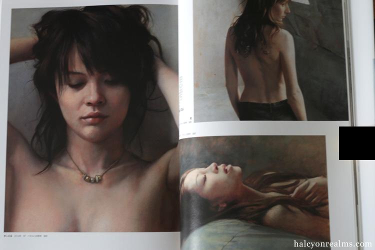 Photoreal Paintings - Beautiful Female Portraits Art Book