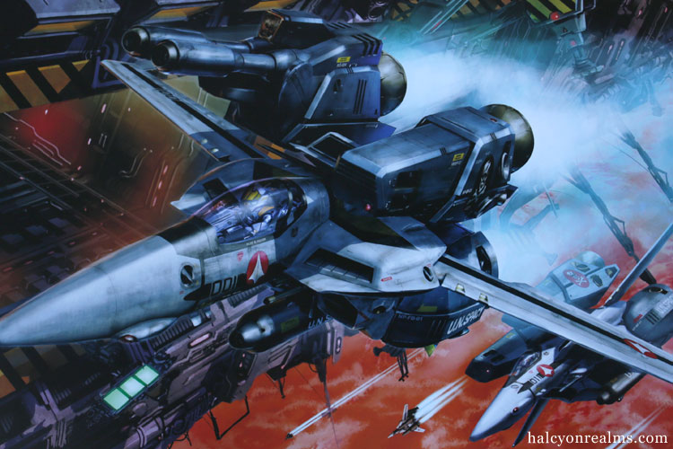 Valkyries ~Third Sortie~ : Tenjin Hidetaka Art Works Of Macross Book Review