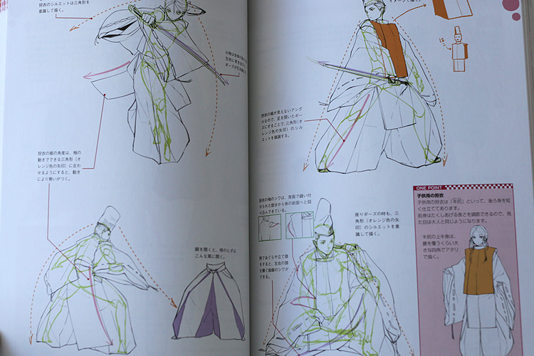 How To Draw Japanese Period Costumes Art Book