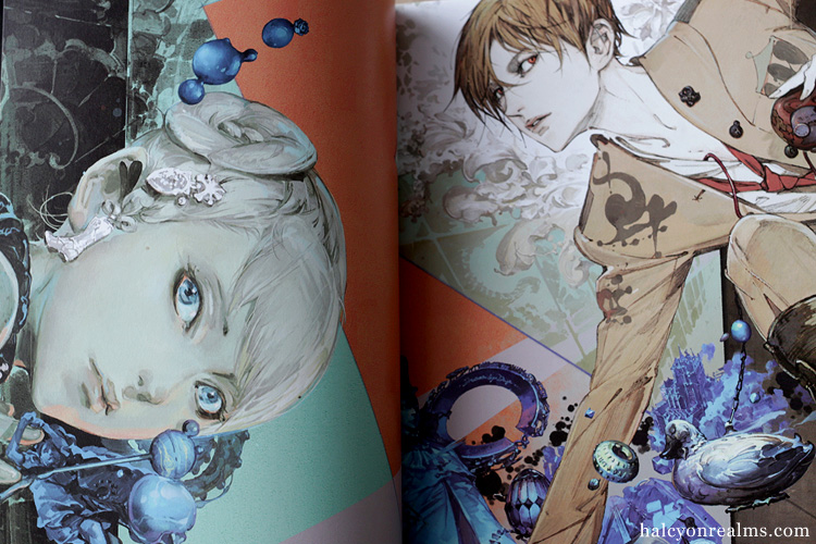 Yasushi Suzuki Art Works - Eyes Book Review