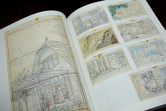 Studio Ghibli Layout Designs Exhibition & Art Book