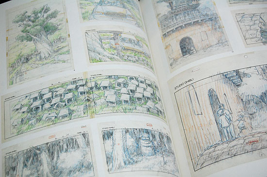 Studio Ghibli Layout Designs Exhibition Art Book