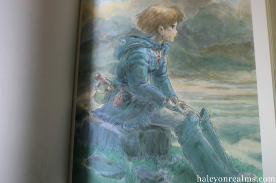 Nausicaa Watercolor Collection - Miyazaki Hayao Art Book