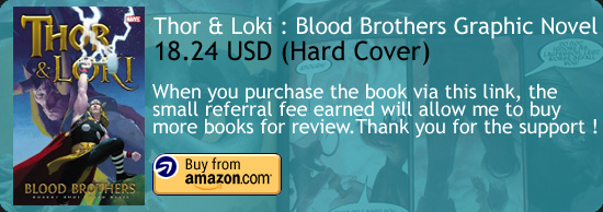 Thor & Loki : Blood Brothers Graphic Novel Esad Ribic Amazon Buy Link