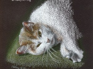 Eleanor colored pencil