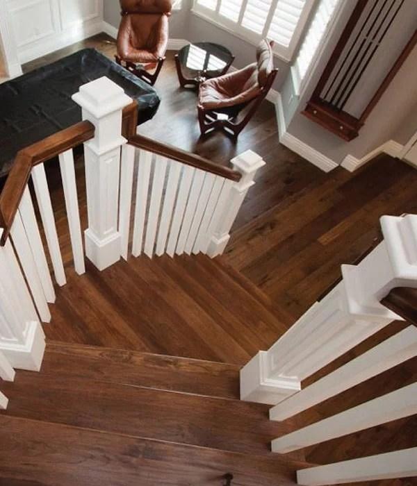 Monterey Casita Stairs - Hallmark Floors with Glaze Tek finish
