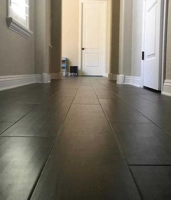 Silverado Stout Hallway - Hallmark Floors with Truemark finish