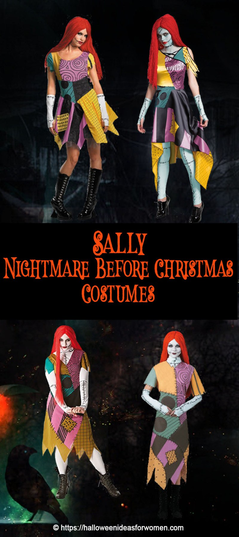 Grande Sally Makeup Tutorials Sally Nightmare Before Costume Pattern ...
